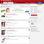 resultaten pagina partners parship