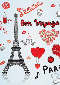 romantische steden: parijs