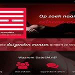 datesm, speciale sexdating site voor mensen opzoek naar sm