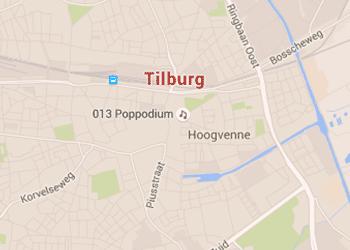 tips voor een date in tilburg - kaart van tilburg