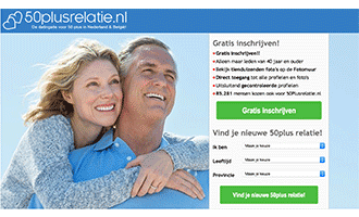 50Plusrelatie – Datingsite voor ouderen – Ervaringen – NIEUW