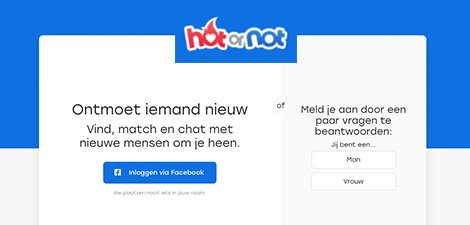 Hot or not dating site
