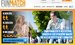 startpagina van funmatch