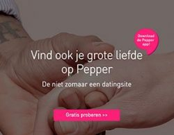 pepper datingsite voor spontane en actieve mensen!