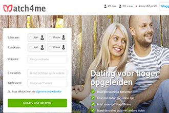 datingsite voor hoger opgeleiden van match4me