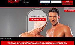 Squirt.org - De sexdating site voor homo's