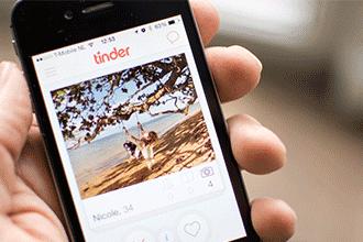 snel in contact komen met ontzettend veel mensen via deze dating app tinder