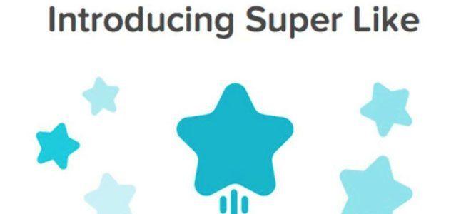 wat kun je met een superlike en voor wie is het bedoeld - nieuw door Tinder