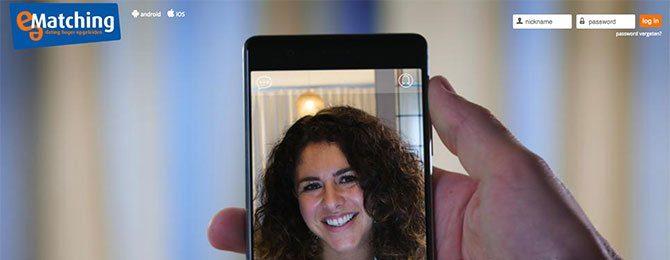 e-matching videofunctie is voor alle leden die sneller willen daten