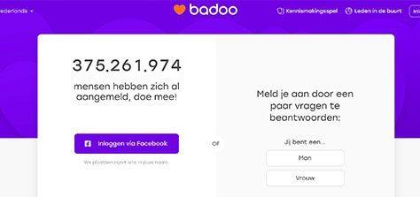 badoo homepage voor iedereen die casual datingsite zoekt