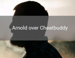 arnold die anoniem vertelt over zijn ervaring met cheatbuddy